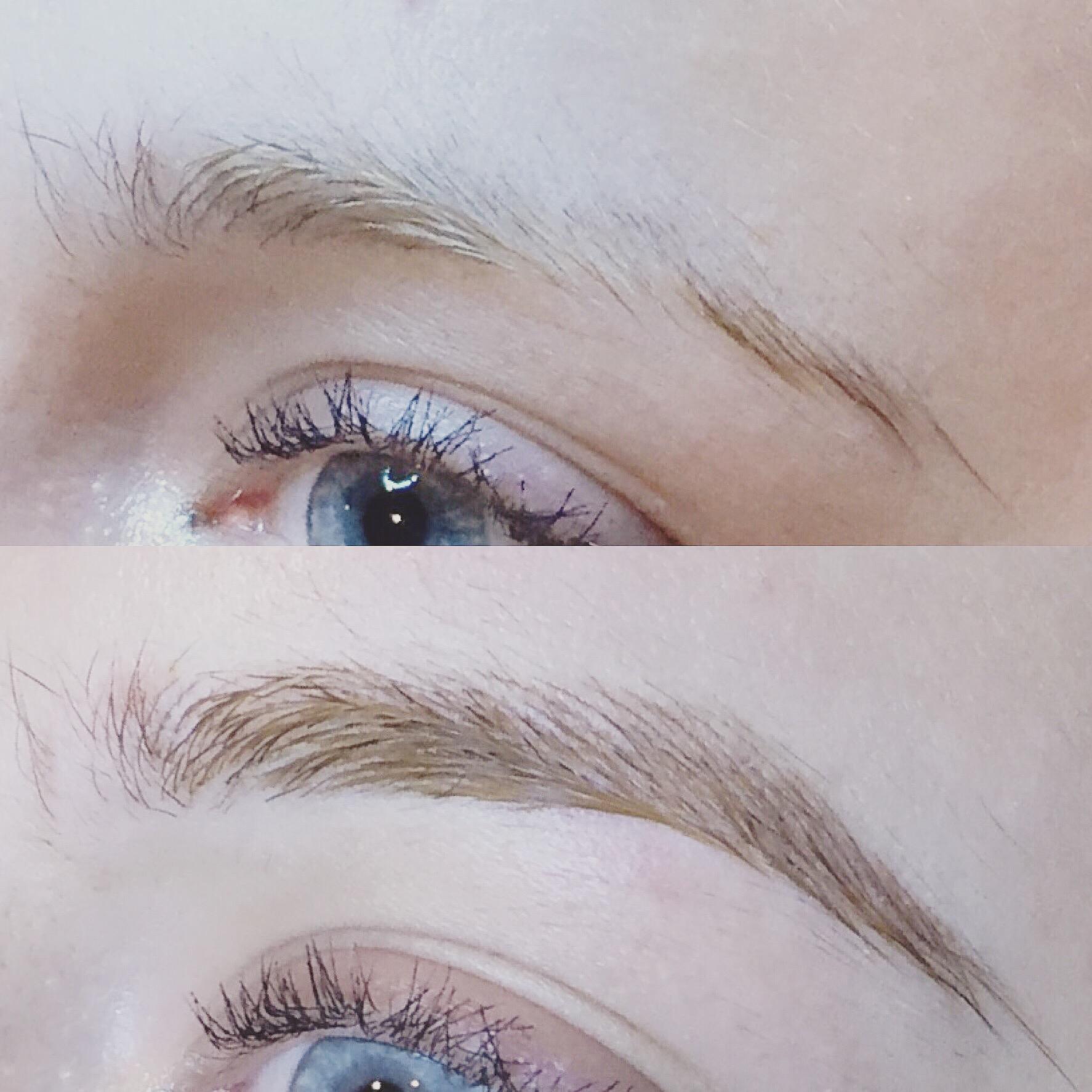 Semi Permanent Eyebrow Make Up Face Clinic London